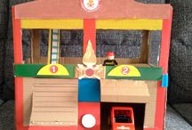 cardboard crafts kids / www.mammapapagiochiamo.com