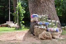 Wedding  scenografici di propria creazione. / Allestimenti per matrimoni shabby  vintage,creazioni personali Petali e Sogni a San Mauro Torinese www.petaliesogni.com