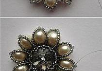 1 Blüten Sticken Perlen