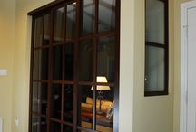 Room Dividers / Our room dividers are an elegant addition to any home creating beautiful spaces without the commitment of drywall
