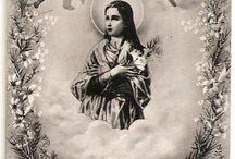 Todos os santos do Céu, rogai por nós! ♥
