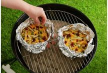 camping ideas and food