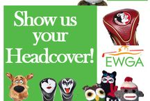 Heads Up - EWGA Head Covers / Golf season is on the horizon and it's time to clean out those closets. Many of us show our personality on the golf course and this extends through a head cover (or covers) we have on our clubs. So kicking off 2014 with something fun and new will be a Head Cover Contest.  School mascots, cartoon characters, animals, homemade head covers, whatever says you and tells us something about you – or the new you!  The contest runs Jan 2 – Jan 30, so don't delay and send us your entry. contest@myewga.com