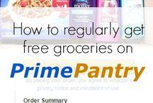 Prime food pantry
