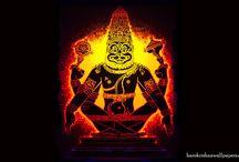 Art Work - Narasimha Deva / Amazing wallpapers of Narasimha Deva maid by ISKCON Desire Tree
