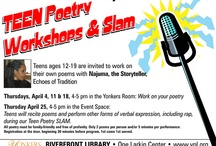 Teen Poetry - Celebrate National Poetry Month