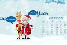 January 2014 Calenders / Wishing everyone a joyous, prosperous, tremendous, vivacious, glorious, righteous, hilarious, gregarious, courageous, wondrous, religious and a marvelous NEW YEAR, 2014