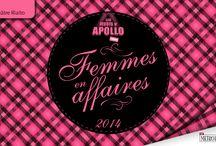 Jeudi d'APOLLO : Femmes en Affaires 2014
