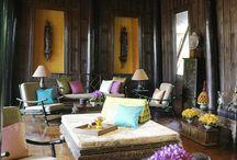 Bali style decor