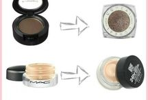Beauty Dupes / An ever-growing collection of high end makeup dupes.