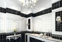 Aşırı Modern Siyah Beyaz Banyo Dekorasyonu Fikirleri / Aşırı Modern Siyah Beyaz Banyo Dekorasyonu Fikirleri http://www.dekordiyon.com/siyah-beyaz-banyo-dekorasyonu-fikirleri/ #banyodekorasyonu #siyahbeyazbanyo