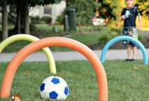 Summertime Fun using Pool Noodles