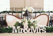 Wedding sweethearts table
