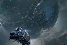Sci fi places