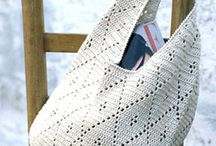 Crochet bags and purses / Virkade väskor