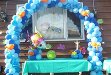 under the sea balloon decor / by Rosielloons
