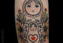 Bambola Russa Tatuaggio