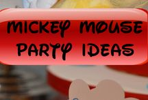 Mickey Mouse Aviator Party Ideas / Mickey Mouse Aviator Party Ideas #mickeymouse #mickeymouseparty #partyideas / by Seshalyn's Party Ideas