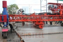 Concrete Paving / UNiSTEEL Engineering Works is manufacturing Concrete Paving Machine for Concrete road, Airport taxiway, Irrigation Canal and Reservoir
