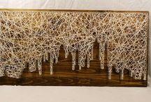 String Art by ArtCraft / StringArt made by ArtCraft Send us som love at https://www.facebook.com/RealArtCraft/