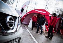 Zimní roadshow společnosti Nissan