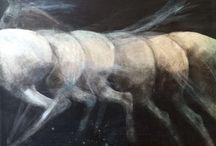 Horses / Original paintings, prints and works of fine art depicting horses