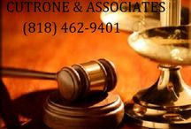 CUTRONE & ASSOCIATES  |  (818) 462-9401 / CUTRONE & ASSOCIATES  |  (818) 462-9401  6582 Van Nuys Blvd.# 119  Van Nuys  CA 91401  http://california-personal-injury-lawfirm.com/car-accident-lawyer-van-nuys  https://plus.google.com/110438545667003133255/about?hl=en   The law offices of Cutrone & Associates is a boutique California personal injury law firm specializing in all manners of vehicle  accidents including auto, truck, bus and pedestrian accidents.
