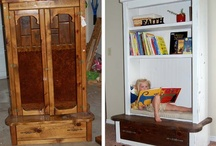 Furniture Do Overs / Neat Furniture Makeovers...tips...ideas galore!