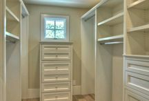 walk in closet, shelves and storage