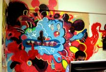 Mural TRIDIVISION/ space of creation / only expresion