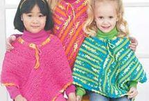 Kids Crochet - Cardigan/Poncho
