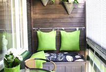 Ideas balcones pequeños