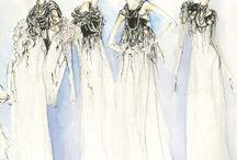 [Fashion Illustrations] / Myrtle Quillamor, Aurore De La Morinerie, Louise Alsop