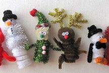 Christmas craft ideas / by Shelly Wimberley