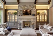 Design. Fireplace