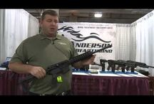 Gun Shows / Anderson Rifles with the RF 85 (no lube ever needed) treatment are making the rounds all over the country.