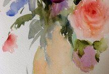 W colour roses
