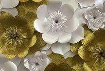 Kağıttan çiçekler