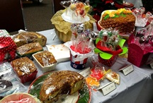 Staff Celebrations / Pictures of our Gingerbread Houses and our Holiday and Spring Boutiques