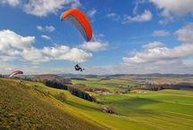 Kurse Sauerland / Gleitschirmfliegen lernen mit Papillon Paragliding in Elpe/Hochsauerland!