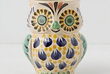 Owls! / Owls....... Particularly ones that are folk art influenced. / by Rebecca Goldthorpe