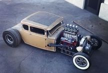 Rat rods & hot rods & truck rods / by bud robinson