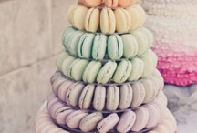 Savory and Sweet Treats / Bridal Shower Inspiration; Wedding Reception Ideas; Bridal Shower Ideas; Bridal Shower Food; Wedding Food; Bridal Shower Desserts; Wedding Desserts; Dessert Bar