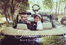 Wedding Thank You Cards / These photo thank you cards are so gorgeous to send to your guests after your wedding.