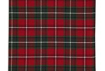 Traditional Tartan Holiday / Traditional Tartan Entertaining and Decor