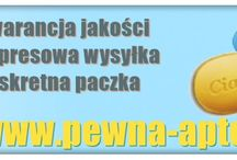 Pewna Apteka / We are an Internet pharmacy that specializes in the sale of drugs for impotence and has been active on the Polish market since 2012.