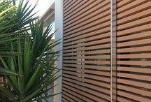 Frangisole in legno composito a Palermo