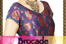 BROCADE READY TO WEAR BLOUSES / vibgyorcollections.com offers you readymade saree blouses to buy online in extravagant designs, styles, and embellishments to suit your taste.You can buy trendy saree blouses online with or without a saree.