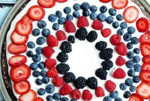 4th of July Party / For those patriotic holiday and summer nights, here are some ideas on how to throw a red, white, and blue party.