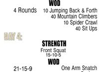 CrossFit / bodyweight